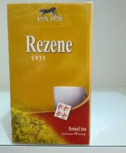Rezene Poşet Çay - Pars